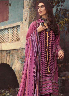 The Colours of Winter by Gul Ahmed Printed Corduroy Unstitched 3 Piece Suit GA20CW CD-45 - Winter Collection