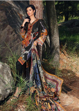 Gul Ahmed Embroidered Khaddar Unstitched 3 Piece Suit GA19W K-47 - Winter Collection