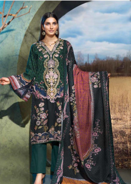 Gul Ahmed Embroidered Khaddar Unstitched 3 Piece Suit GA19W K-76 - Winter Collection