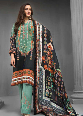Gul Ahmed Embroidered Khaddar Unstitched 3 Piece Suit GA19W KCN-02 - Winter Collection