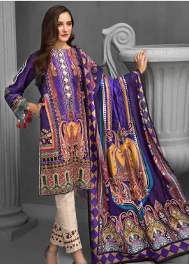 Gul Ahmed Embroidered Khaddar Unstitched 3 Piece Suit GA19W KCN-05 - Winter Collection