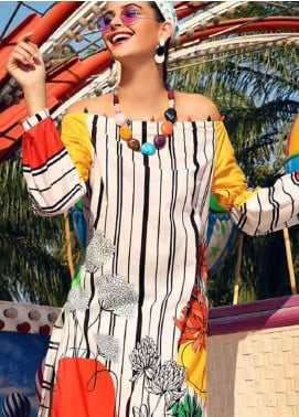 Gul Ahmed Printed Lawn Unstitched 2 Piece Suit GA20Y TL-268 - Spring / Summer Collection