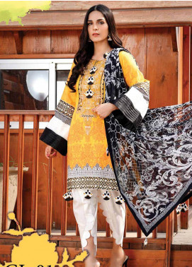 Gul e Lala by Anamta Embroidered Lawn Unstitched 3 Piece Suit ANT20G GL 01 - Spring / Summer Collection