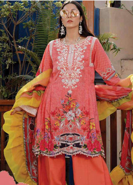 Gul e Lala by Anamta Embroidered Lawn Unstitched 3 Piece Suit ANT20G GL 03 - Spring / Summer Collection