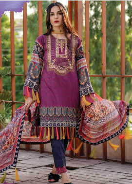 Gul e Lala by Anamta Embroidered Lawn Unstitched 3 Piece Suit ANT20G GL 07 - Spring / Summer Collection