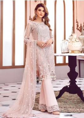Gulaal Embroidered Zari Net Unstitched 3 Piece Suit GL19-LF2 1 ROUGIR - Luxury Collection
