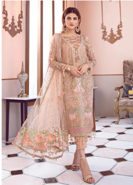 Gulaal Embroidered Zari Net Unstitched 3 Piece Suit GL19-LF2 4 JOLIE - Luxury Collection