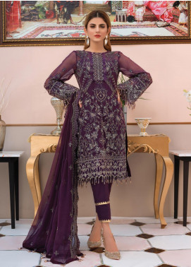 Gulaal Embroidered Chiffon Unstitched 3 Piece Suit GL19-LF2 8 ETHEREE - Luxury Collection