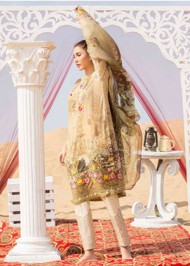 Gulkari Embroidered Lawn Unstitched 3 Piece Suit GK19L 05 - Spring / Summer Collection
