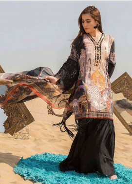 Gulkari Embroidered Lawn Unstitched 3 Piece Suit GK19L 06 - Spring / Summer Collection