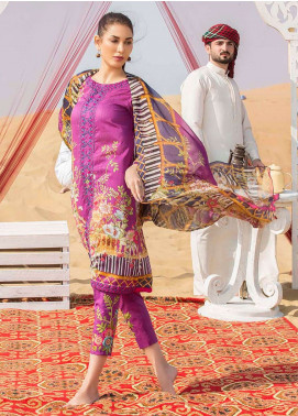 Gulkari Embroidered Lawn Unstitched 3 Piece Suit GK19L 07 - Spring / Summer Collection