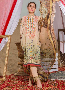Gulkari Embroidered Lawn Unstitched 3 Piece Suit GK19L 14 - Spring / Summer Collection