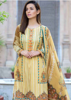 Gulkari Embroidered Lawn Unstitched 3 Piece Suit GKR19L 2A - Spring / Summer Collection