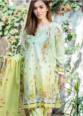 Gulkari Embroidered Lawn Unstitched 3 Piece Suit GKR19L 6A - Spring / Summer Collection