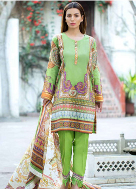 Gulkari Embroidered Lawn Unstitched 3 Piece Suit GKR19L 7B - Spring / Summer Collection