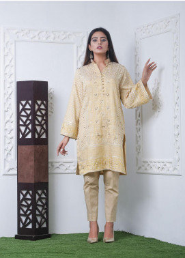 Hana Embroidered Jacquard Stitched Kurties Ladies Kurti HH00009 Jaqd Adda-S