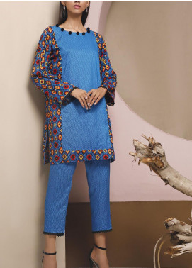 Heena by Ittehad Textiles Printed Linen Unstitched 2 Piece Suit ITD20HL 1901-B - Summer Collection
