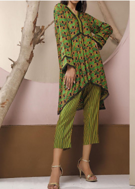Heena by Ittehad Textiles Printed Linen Unstitched 2 Piece Suit ITD20HL 1906-C - Summer Collection