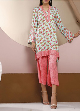 Heena by Ittehad Textiles Printed Linen Unstitched 2 Piece Suit ITD20HL 1908-C - Summer Collection