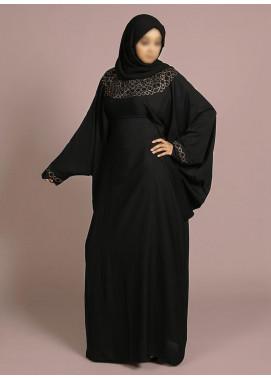 Hijab ul Hareem Jilbab Chiffon Stitched Abaya Jilbab-C-967