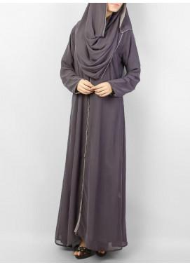Hijab ul Hareem Formal Chiffon Stitched Abaya 0116-BD Arabis