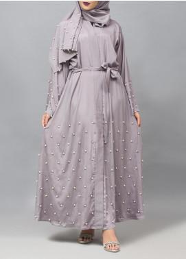 Hijab ul Hareem Casual Style Crape Stitched Abaya 0116-J-999