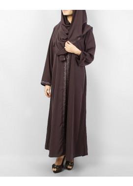 Hijab ul Hareem Formal Georgette Stitched Abaya 0116-M