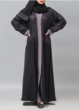 Hijab ul Hareem Formal Polyester Stitched Abaya 0116-R-957