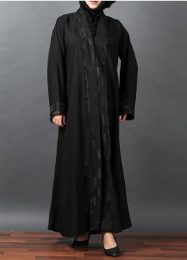 Hijab ul Hareem Formal Woollen Stitched Abaya 0116-RC-A329