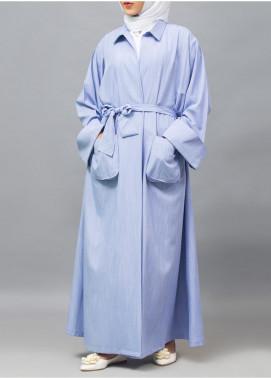 Hijab ul Hareem Formal Chambray Stitched Abaya 0119-P-952