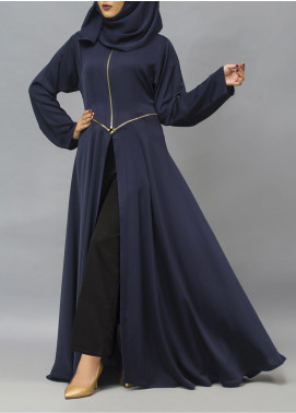 Hijab ul Hareem Pullover Polyester Stitched Abaya 0120-R-956