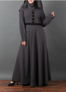 Hijab ul Hareem Pullover Woollen Stitched Abaya 0120-R-A334