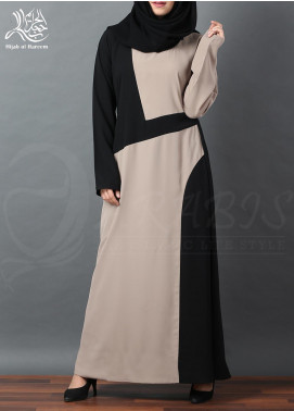 Hijab ul Hareem Pullover Polyester Stitched Abaya 0120-R-A335