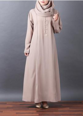 Hijab ul Hareem Pullover Georgette Stitched Abaya 0120-R-A340