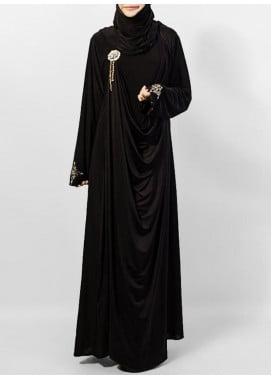 Hijab ul Hareem Pullover Jersey Stitched Abaya 0120-RC-741
