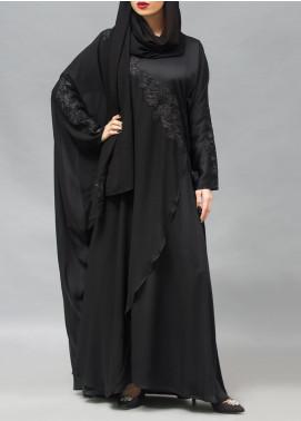 Hijab ul Hareem Pullover Chiffon Stitched Abaya 0120-RC-904