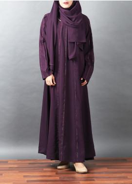 Hijab ul Hareem Pullover Woollen Stitched Abaya 0120-RC-A339