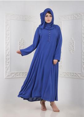 Hijab ul Hareem Front Close Chiffon Stitched Abaya A 0120-B-A404