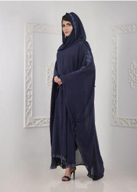 Hijab ul Hareem Front Open Chiffon Stitched Abaya A JILBAB-C-A303