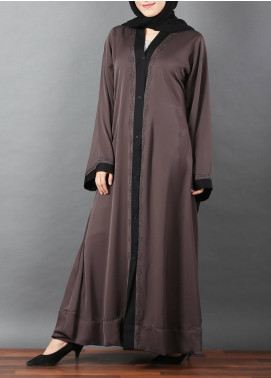 Hijab ul Hareem Front Open Style  Stitched Abaya 0116-RC-A331