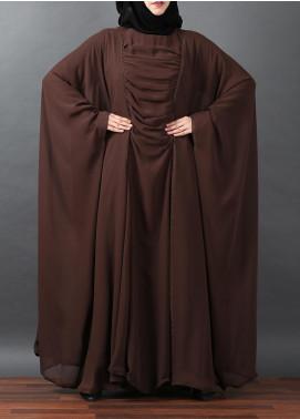 Hijab ul Hareem Jilbab Chiffon Stitched Abaya JILBAB-BC-A315