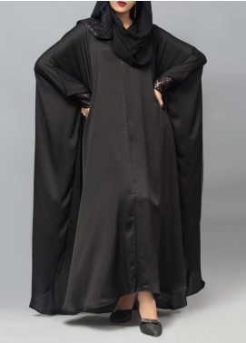 Hijab ul Hareem Jilbab Polyester Stitched Abaya JILBAB-R-961