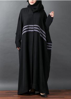 Hijab ul Hareem Jilbab Polyester Stitched Abaya JILBAB-R-A313