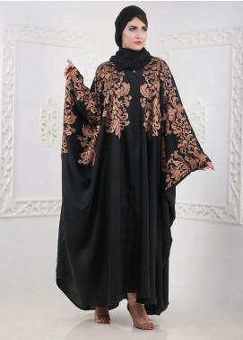 Hijab ul Hareem Front Open Nida Stitched Abaya A JILBAB-K-A353