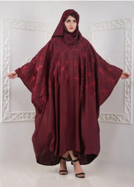 Hijab ul Hareem Front Open Nida Stitched Abaya A JILBAB-K-A377