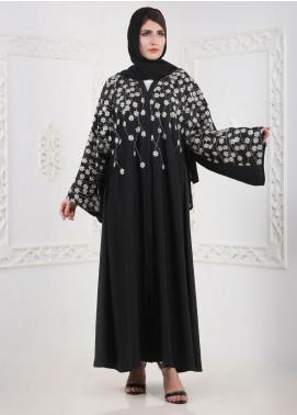 Hijab ul Hareem Front Open Nida Stitched Abaya H-0116-K-152