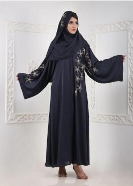 Hijab ul Hareem Front Open Nida Stitched Abaya H-0116-K-154