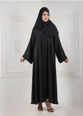 Hijab ul Hareem Front Open Nida Stitched Abaya H-0118-R-115