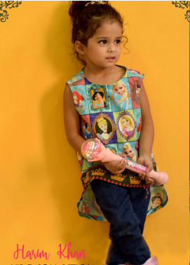 Harim Khan Lawn Printed Kurtis for Girls - Mix HK18K 002