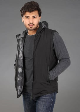 Sanaulla Exclusive Range Parachute Casual Hoodies for Men -  SAM18H 01